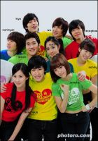 Super junior and snsd. by peaceintheworld