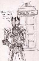 Kamen Rider Doctor Who again by FlamedramonX20