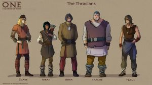 The Thracians by alempe