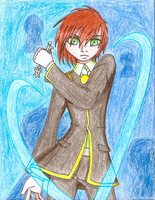 ACEO - Persona Unlock The Lover by TorresAdlinCDL91