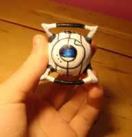 Tiny Little Wheatley by TwinklePowderySnow