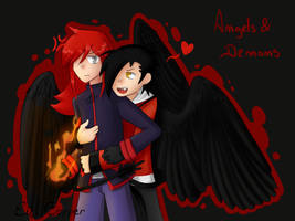 PokeSpe - Angels and Demons:  Lust and Envy by Eifi--Copper