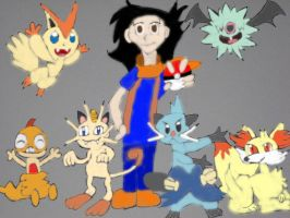 My Pokemon Team by tanlisette
