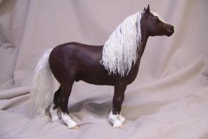 draft horse sculpt by AmandaKathryn