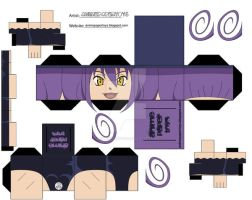 BLAIR SOUL EATER PAPERTOY by animepapertoys
