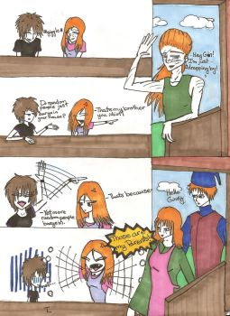 Tonks Meets Ginny by TonksLupin