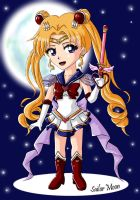 Sailor Moon Chibi by CelestialRayna