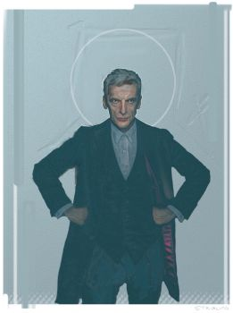 The Doctor...iPad sketch WIP by strib