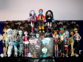 My MH collection so far part 1 by Bj-Lydia