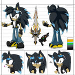 CM: Neo Reference Sheet by shadowhatesomochao