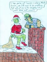 Christmas - Hillary and The Grinch by Jose-Ramiro