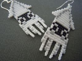 Blooper Pixel Earrings by Pixelosis