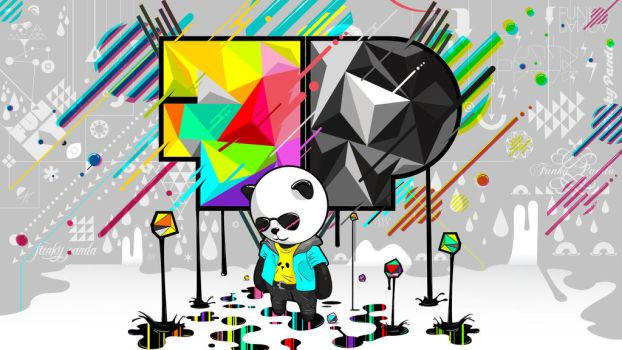 Funky Panda's Second Wallpaper. by FunkyyPanda