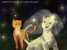 Firestar and Sandstorm-For you my love by Espenfluss