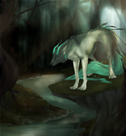 Tundra - YCH Commission for forgetSanity by CharlotteChambers