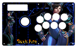 Chun Li Madcatz TE stick 2.5 by Ace-Killa-51-50