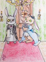 Welcome to the bunny mansion! by Kuumone