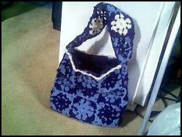 Blue Handbag by kimby