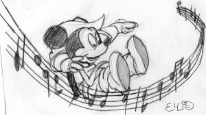 Mickey by EllieThePoedel