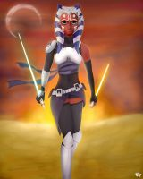 Ahsoka by FunnyWarfare