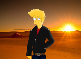 Adult Bart Simpson by LSimpsonJazzgirl