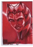 Ahsoka Tano ROTBH return card by Dangerous-Beauty778