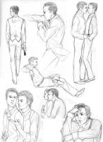 INCEPTION - sketches 02 by bluestraggler