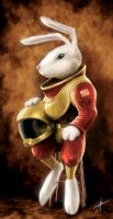 Space Rabbit by conkrys