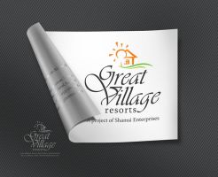 great village logo by khawarbilal