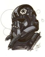 Tie Fighter Pilot Commission by ragelion