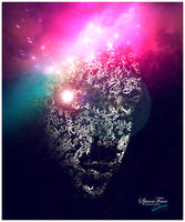 Typographic Space Face by soopernoodles