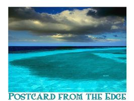 Postcard from the edge by puddlz