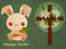 Easter Card by Iggypuff