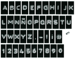 DYMO Alphabet Set by guggenheim