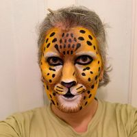 Realistic Leopard makeup-2nd try by toberkitty