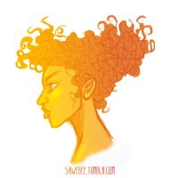 Curly Girly by sawebee