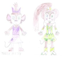 Teresa Brisby as Cure March by luis831