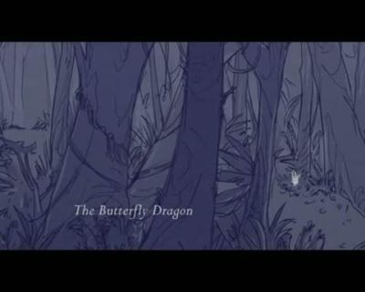 Animation:The Butterfly Dragon by souku