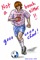 World Cup Chad by debbiechan