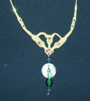 """Necklace """"Elvan Shell"""" by Peter-The-Knotter"""