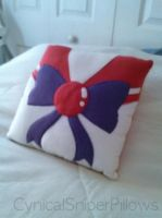 Sailor Mars Pillow by CynicalSniper