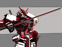 MBF-P02 Astray Red Frame by beamer