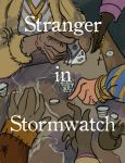 nanowrimo day 30 - stranger in stormwatch by Newburgart