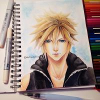 Cloud Strife - Final Fantasy 7 by Fangirl342