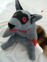 Zombie Raccoon by IckyDog