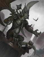 The Gargoyle Final by Davesrightmind