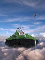 Flying Castle by 1995levente
