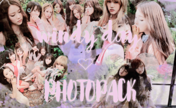 -PHOTOPACK Oh my girl #WindyDay- by namhui