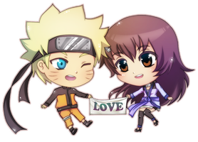 Commission Naruto x Ren by lightshelter