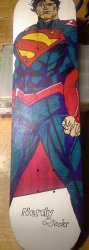 Superman Deck completed by chaz1179